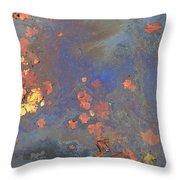 Autumn Puddle Throw Pillow