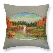 Autumn Reverence Throw Pillow
