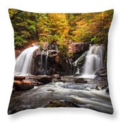 Autumn Rush Throw Pillow