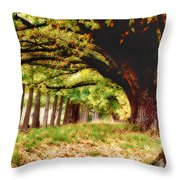 Autumn Shelter Throw Pillow