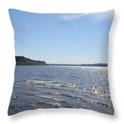 Autumn Shore Throw Pillow