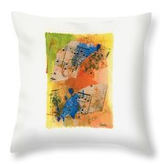 Autumn Song Throw Pillow