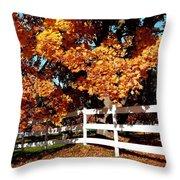 Autumn Splendor 10 Throw Pillow