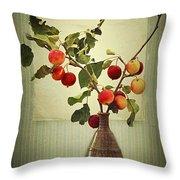 Autumn Stillife Throw Pillow