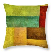 Autumn Study 1.0 Throw Pillow by Michelle Calkins