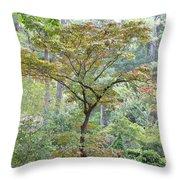 Autumn Surrounds Me Throw Pillow