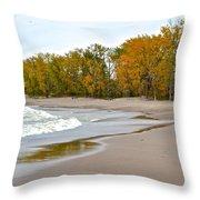 Autumn Tides Throw Pillow
