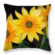 Autumn Trinity Throw Pillow