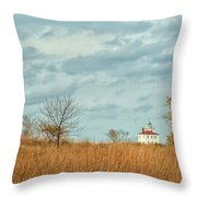 Autumn Twilight Pano Throw Pillow