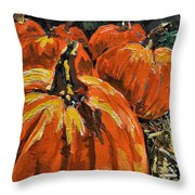 Autumn Throw Pillow by Vickie Warner