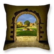 Autumn Views Throw Pillow