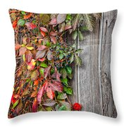 Autumn Vine Throw Pillow