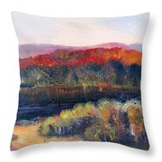 Autumn Vista Throw Pillow