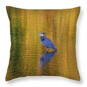 Autumn Watcher Throw Pillow