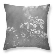 Autumn Weeds Throw Pillow