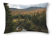 Autumn - White Mountains New Hampshire Throw Pillow