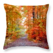 Autumn Xxi Throw Pillow