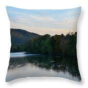 Autumnal Allegheny Throw Pillow