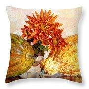 Autumn's Charm Throw Pillow