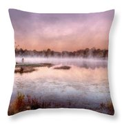 Autumns Light Throw Pillow