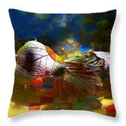 Autumns Mosaic Throw Pillow