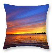 Autumn's Other Colors Throw Pillow