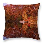 Autumn's Reflection Throw Pillow