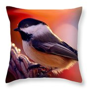 Autumns Song... Throw Pillow