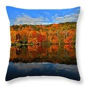 Autumnscape Throw Pillow