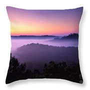 Auxier Ridge Dawn - Fm000023 Throw Pillow