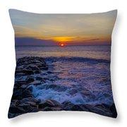 Avalon New Jersey Sunrise Throw Pillow