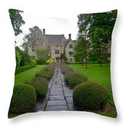 Avebury Manor House Throw Pillow