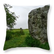 Avebury Megalith Throw Pillow