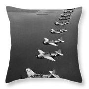 Avenger Bombers, 1943 Throw Pillow