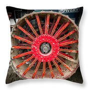Avery Tractor Tire Throw Pillow