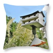 Avian Hotel Throw Pillow