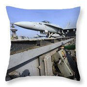 Aviation Boatswains Mate Launches An Throw Pillow