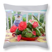 Avocados Throw Pillow