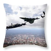 Avro Birds Throw Pillow