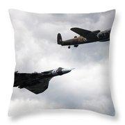 Avro Icons Throw Pillow