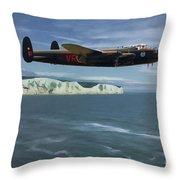 Avro Lancaster Throw Pillow