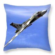 Avro Vulcan B2 Xh558 G-vlcn Throw Pillow
