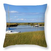 Awaiting Adventure Throw Pillow