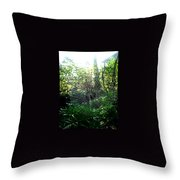 Awaiting Kill Throw Pillow