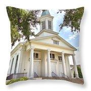 Awaiting The Congregation Throw Pillow