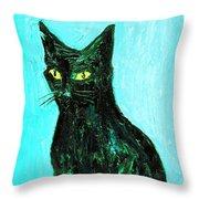 Awake To The Invisible Throw Pillow
