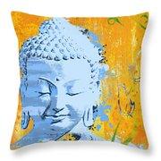 Awakened One Mantra Throw Pillow