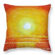 Awakening Original Painting Throw Pillow
