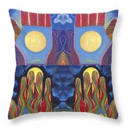 Awakenings Throw Pillow