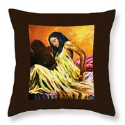 The Awakening Throw Pillow